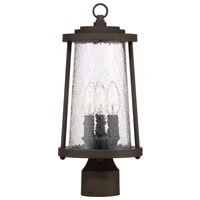 Minka-Lavery 71226-143 Haverford Grove 3 Light 16 inch Oil Rubbed Bronze Outdoor Post Mount Lantern The Great Outdoors