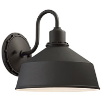 Minka-Lavery 71242-66 Mantiel 1 Light 10 inch Black Outdoor Wall Light The Great Outdoors