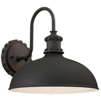 Escudilla 1 Light 12 inch Black Outdoor Wall Lantern