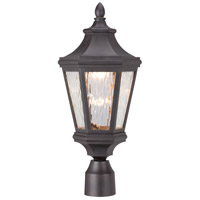 Hanford Pointe LED 20 inch Oil Rubbed Bronze Outdoor Post Mount Lantern