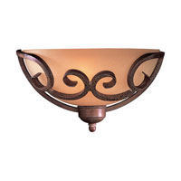 Minka-Lavery Caspian 1 Light Sconce in Golden Bronze 720-355