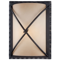Aspen Bronze Outdoor Wall Lights