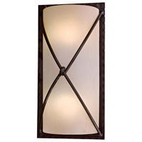 The Great Outdoors by Minka Aspen II 2 Light Outdoor Pocket Lantern in Aspen Bronze 72002-A138-PL