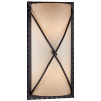 Aspen 2 Light 19 inch Aspen Bronze Outdoor Pocket Lantern