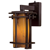 Minka-Lavery Lugarno Square 1 Light Wall Lamp in Dorian Bronze 72011-A615B-PL