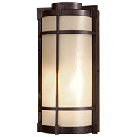 Andrita Court 1 Light 15 inch Textured French Bronze Outdoor Pocket Lantern