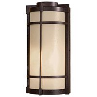 Minka-Lavery 72020-A179 Andrita Court 1 Light 15 inch Textured French Bronze Outdoor Wall Mount