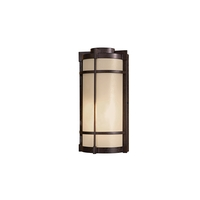 Minka-Lavery 72020-A179 Andrita Court 1 Light 15 inch Textured French Bronze Outdoor Wall Mount Great Outdoors