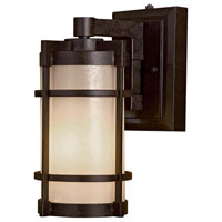 Andrita Court 1 Light 13 inch Textured French Bronze Outdoor Wall Lamp