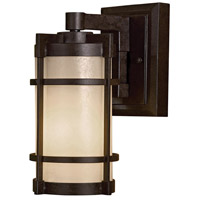 Andrita Court 1 Light Textured French Bronze Outdoor Wall Mount