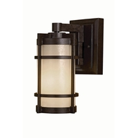 Minka-Lavery 72022-A179 Andrita Court 1 Light 12 inch Textured French Bronze Outdoor Wall Mount, Great Outdoors