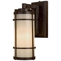 Andrita Court 1 Light 17 inch Textured French Bronze Outdoor Wall Lamp