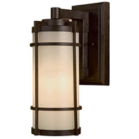 Andrita Court 1 Light 17 inch Textured French Bronze Outdoor Wall Mount