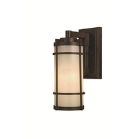 Minka-Lavery 72023-A179 Andrita Court 1 Light 17 inch Textured French Bronze Outdoor Wall Mount, Great Outdoors