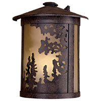 The Great Outdoors by Minka Sunset Ranch 1 Light Outdoor Wall in Textured French Bronze 72030-179-PL