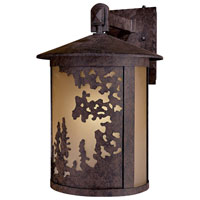 The Great Outdoors by Minka Sunset Ranch 1 Light Outdoor Wall in Textured French Bronze 72032-179-PL