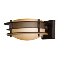 The Great Outdoors by Minka Signature 1 Light Outdoor Wall in Iron Oxide 72092-357-PL