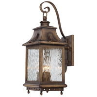 Minka-Lavery 72113-149 Wilshire Park 4 Light 22 inch Portsmouth Bronze Outdoor Wall Lantern The Great Outdoors