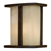 The Great Outdoors by Minka Signature 1 Light Outdoor Pocket Lantern in Iron Oxide 72131-357-PL
