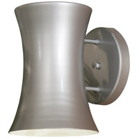 The Great Outdoors by Minka Signature 1 Light Outdoor Wall in Silver 72142-609-PL
