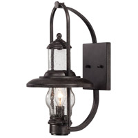 Settlers Way 1 Light 15 inch Textured French Bronze Outdoor Wall Mount Lantern