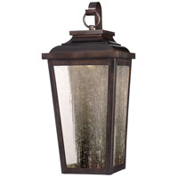 Irvington Manor LED 19 inch Chelesa Bronze Outdoor Pocket Lantern