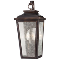 Irvington Manor 2 Light 19 inch Chelesa Bronze Outdoor Pocket Lantern