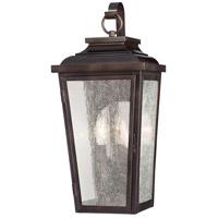 Minka-Lavery 72170-189 Irvington Manor 2 Light 19 inch Chelesa Bronze Outdoor Pocket Lantern