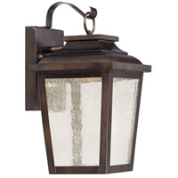 Irvington Manor LED 12 inch Chelesa Bronze Outdoor Wall Lantern