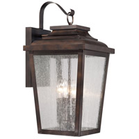 Minka-Lavery 72173-189 Irvington Manor 4 Light 21 inch Chelesa Bronze Outdoor Wall Mount Lantern