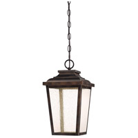 Irvington Manor LED 9 inch Chelesa Bronze Outdoor Chain Lantern