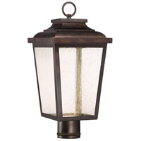 Minka-Lavery 72176-189-L Irvington Manor LED 18 inch Chelesa Bronze Outdoor Post Mount Lantern The Great Outdoors