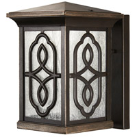 Seneca Square LED 9 inch Whisper Bronze Outdoor Wall Mount Lantern