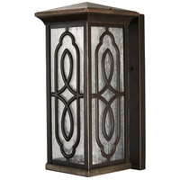 Seneca Square LED 13 inch Whisper Bronze Outdoor Wall Mount Lantern