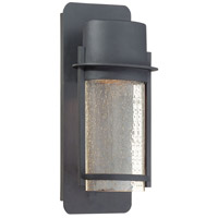 The Great Outdoors by Minka Artisan Lane 1 Light Outdoor Wall Lantern in Black 72251-66
