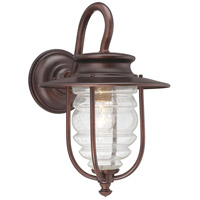 Spyglass Cove 1 Light 14 inch Chelesa Bronze Outdoor Wall Mount Lantern