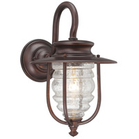 The Great Outdoors by Minka Spyglass Cove 1 Light Outdoor Wall Lantern in Chelesa Bronze 72262-189
