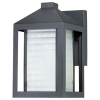 The Great Outdoors by Minka Summit Road 1 Light Outdoor Wall Lantern in Black 72271-66