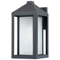 The Great Outdoors by Minka Summit Road 1 Light Outdoor Wall Lantern in Black 72272-66