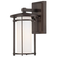 Addison Park 1 Light 10 inch Dorian Bronze Outdoor Wall Mount Lantern
