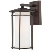 The Great Outdoors by Minka Addison Park 1 Light Wall Bracket in Dorian Bronze 72312-615B