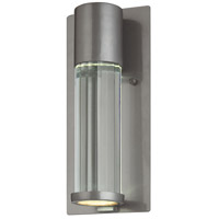 Minka-Lavery 72321-247 Soare 1 Light 11 inch Tinted Silver Outdoor Wall Light The Great Outdoors