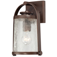 Minka-Lavery 72331-291 Travessa 1 Light 11 inch Architectual Bronze with Copper Highlights Outdoor Wall Light The Great Outdoors