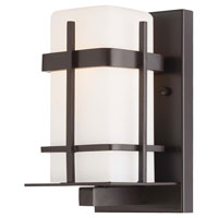 The Great Outdoors by Minka Sterling Heights 1 Light Wall Bracket in Dorian Bronze 72351-615B-PL