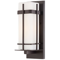 The Great Outdoors by Minka Sterling Heights 1 Light Wall Bracket in Dorian Bronze 72352-615B-PL