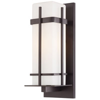 The Great Outdoors by Minka Sterling Heights 1 Light Wall Bracket in Dorian Bronze 72353-615B-PL