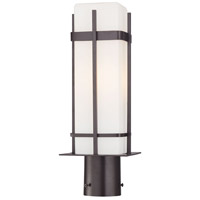 The Great Outdoors by Minka Sterling Heights 1 Light Post Light in Dorian Bronze 72356-615B-PL