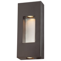 The Great Outdoors by Minka Geox 2 Light Outdoor Pocket Lantern in Dorian Bronze 72371-615B