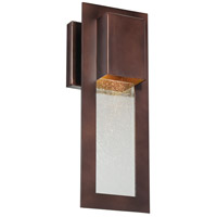 Westgate 1 Light 13 inch Alder Bronze Outdoor Wall Mount Lantern