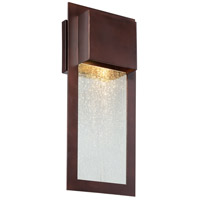 Westgate 1 Light 16 inch Alder Bronze Outdoor Wall Mount Lantern